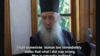 Father Petroniu from Mount Athos-Creationism vs Evolution